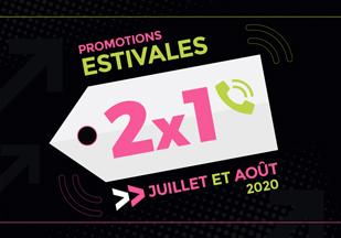 Promotions estivales 2020